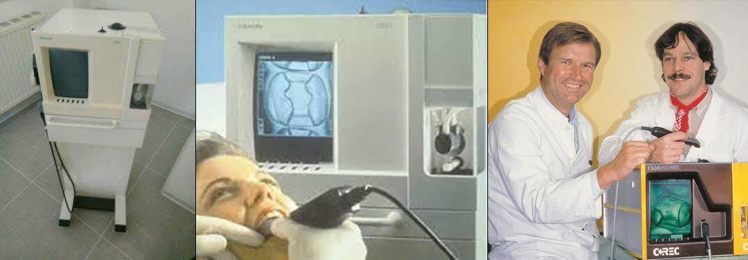 Historia 1995 Incorporación de tecnología digital Cerec I