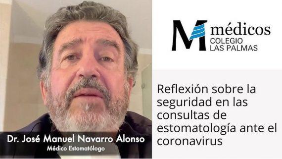 El Colegio de Médicos de Las Palmas publica la reflexión del Dr. Navarro