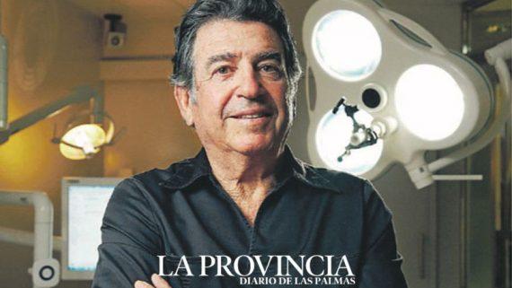 Entrevista al Dr. Navarro en La Provincia sobre la seguridad en el sector de la odontología