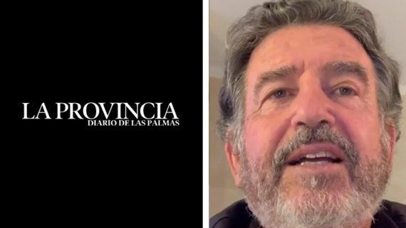 El diario La Provincia se hace eco del vídeo del Dr. Navarro